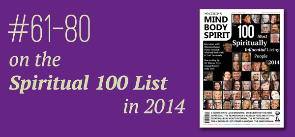 #61-80 on the Spiritual 100 List in 2014