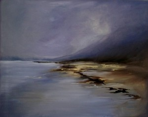 Lucy Tibbits, Kerry, 2013, oil on canvas