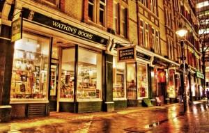 Watkins bookshop