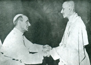 At the Vatican with Pope Paul VI