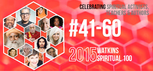 # 41-60 on the Spiritual 100 List in 2015