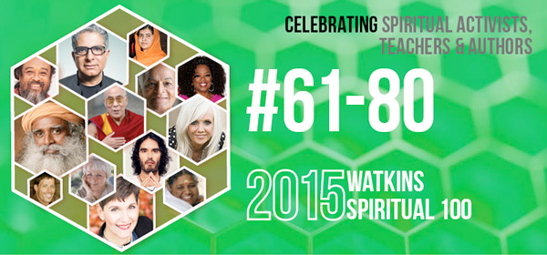 # 61-80 on the Spiritual 100 List in 2015