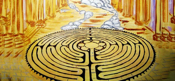 Enter the Wisdom: The Labyrinth Wisdom Cards