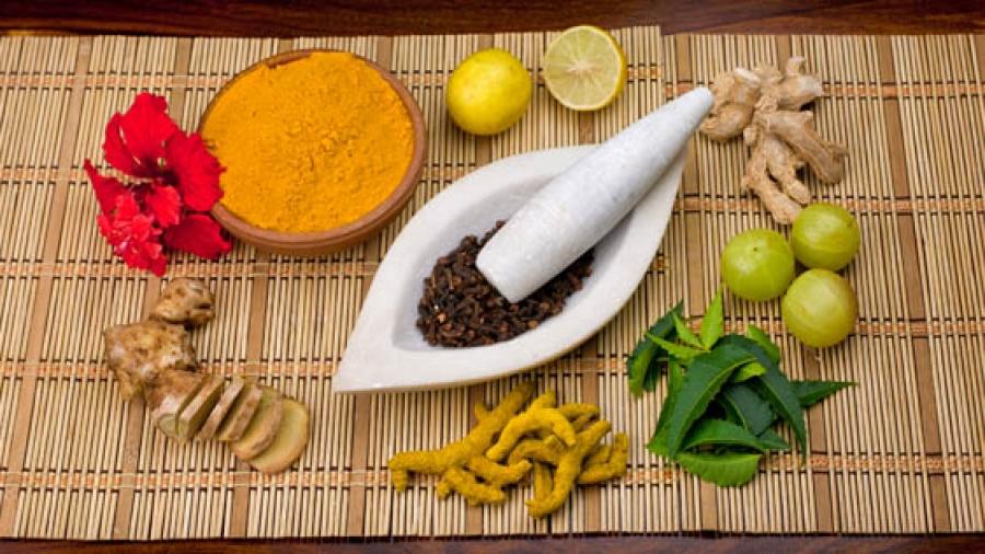 herbs ayurveda (c)shutterstock_66449554