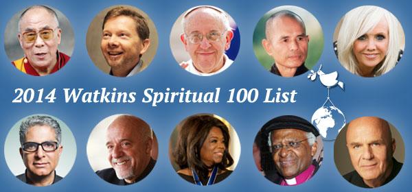 Watkins' Spiritual 100 List for 2014