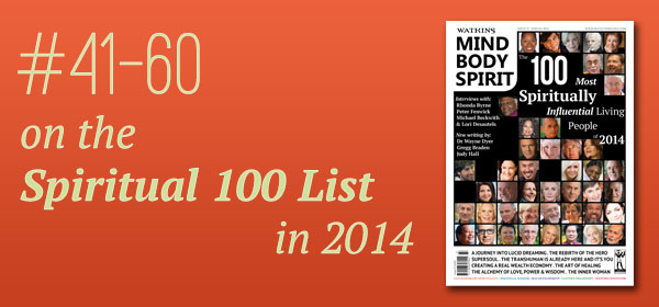 #41-60 on the Spiritual 100 List in 2014