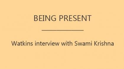 Swami interviw