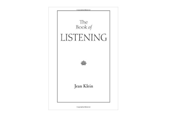 Staff Pick of the Day: The Book of Listening