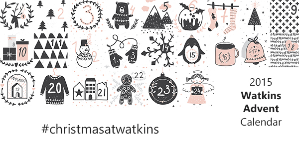 2015 Watkins Digital Advent Calendar