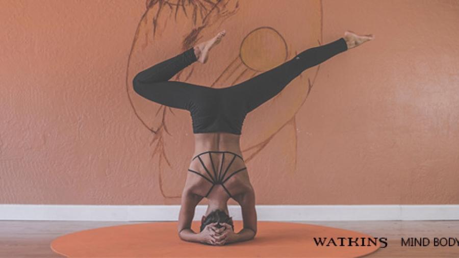 Yoga training 2