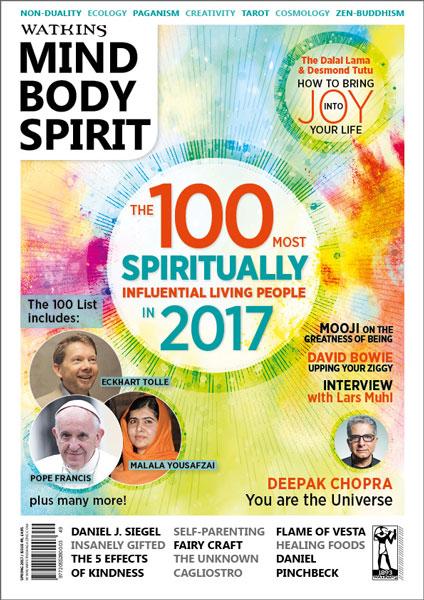 watkins spiritual 100 list for 2017 watkins mind body spirit magazine
