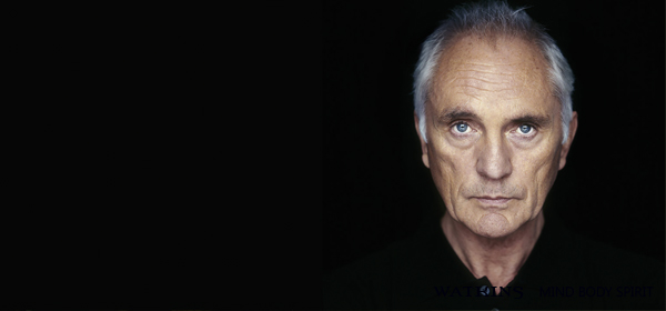A talk with Terence Stamp at Watkins Books : The Ocean Fell into The Drop