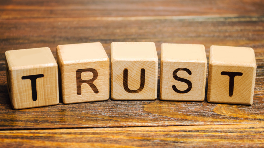 Wooden,Blocks,With,The,Word,Trust.,Trust,Relationships,Between,Business
